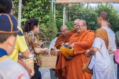 Chiang Mai TAILANDIA - 10 de junio: La cultura de Tailandia Philant Imagen de archivo libre de regalías