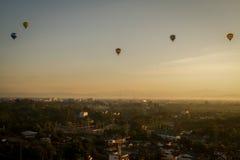 CHIANG MAI TAILANDIA - 26 DE NOVIEMBRE: thaila de Chiang Mai del festival del globo Fotos de archivo libres de regalías