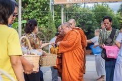 Chiang Mai TAILANDIA - 10 giugno: La cultura della Tailandia Philant Fotografia Stock Libera da Diritti