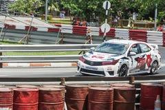 Chiang Mai, Tailandia - 17 settembre 2016: Vetture da corsa in Toyo Immagine Stock