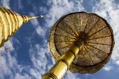 Chiang Mai, Tajlandia - 2015: Doi Suthep świątynia Zdjęcia Royalty Free