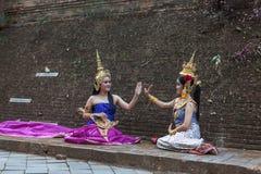 CHIANG MAI TAJLANDIA, LUTY, - 01, 2014 Fotografia Royalty Free