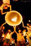 CHIANG MAI TAJLANDIA, PAŹDZIERNIK, - 24, 2009: Grupa Tajlandzcy ludzie losów angeles Zdjęcia Royalty Free