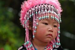 CHIANG MAI TAJLANDIA, PAŹDZIERNIK, - 25: Portret niezidentyfikowany Akh Zdjęcie Stock