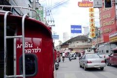 Chiang Mai Taxi Thailand Arkivfoto