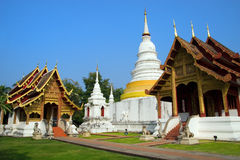 Chiang Mai tempel Arkivfoto