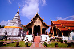 Chiang Mai tempel arkivbild
