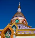 Chiang Mai tempelthailand thaton Arkivbilder
