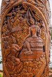 Chiang Mai, tempie leggendarie Ssangyong della Tailandia Suthep passa in rassegna il chiosco ed il re della Tailandia Immagine Stock