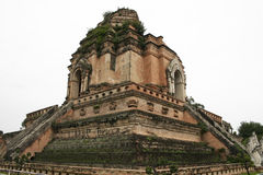 Chiang mai temple ruins thailand royalty free stock images