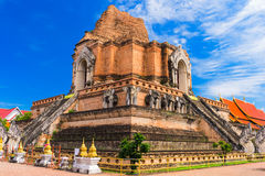 Chiang Mai Temple Royalty Free Stock Photo