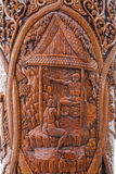 Chiang Mai, temples légendaires Ssangyong de la Thaïlande Suthep passent en revue le kiosque et le roi de la Thaïlande Image libre de droits