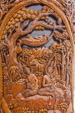 Chiang Mai, templos legendarios Ssangyong de Tailandia Suthep hojea el quiosco y al rey de Tailandia Fotos de archivo