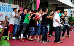 Chiang Mai, TH: Boys Performing Dance Routine Stock Photos