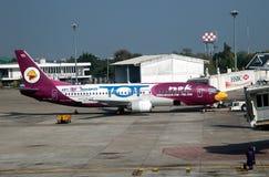 Chiang Mai, TH: NOK-Fluglinien Airbus Stockfotografie
