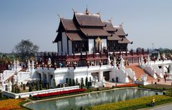 Chiang Mai, TH: Royal Thai Pavilion Stock Photos