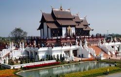 Chiang Mai, TH: Royal Thai Pavilion stock photos