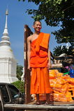Chiang Mai, TH: Smiling Young Monk Stock Photos