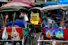 Chiang Mai, TH : Taxis de Tuk-Baquet Photo libre de droits