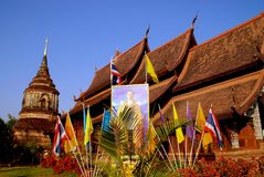 Chiang Mai, TH: Wat Lok Molee Royalty Free Stock Photography