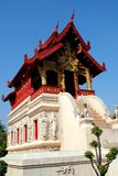 Chiang Mai, TH: Wat Phra Singh Library stock image