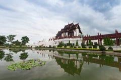 Chiang Mai, Thaïlande chez Flora Ratchaphruek Park royale Images libres de droits