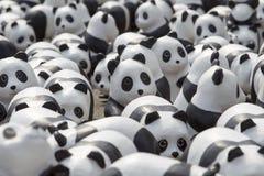 CHIANG MAI, THAÏLANDE le 19 mars 2016 : Tour du monde de pandas par WWF ex Photo stock