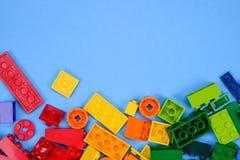 Chiang Mai, THAÏLANDE - 27 mai 2018 : Lego est une ligne du plastique c images stock