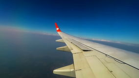 Chiang Mai, Thailand – January 19, 2017: Lion Air SL 506 Landing at Chiang Mai international airport, time lapse stock video footage