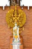 CHIANG MAI, THAILAND - 6. APRIL: Göttin von Gnade Guan yin Statue a Stockfotografie