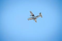 Chiang Mai Thailand - 9 août : Compagnies aériennes Débarquement à l'airp de Chiangmai Photographie stock libre de droits