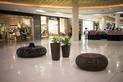 Inside Central Festival Chiang mai. CHIANG MAI, THAILAND - APRIL 19 2018: Central Festival Chiang mai. New Business Plaza of Chiangmai. About 3 Km. from Stock Photography
