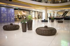 Inside Central Festival Chiang mai. CHIANG MAI, THAILAND - APRIL 19 2018: Central Festival Chiang mai. New Business Plaza of Chiangmai. About 3 Km. from Stock Photo