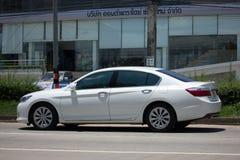Private car Honda accord. CHIANG MAI, THAILAND - AUGUST 28  2017: Private car Honda accord. On road no.1001 8 km from Chiangmai Business Area Stock Images