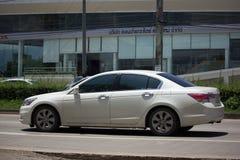 Private car Honda accord. CHIANG MAI, THAILAND - AUGUST 28  2017: Private car Honda accord. On road no.1001 8 km from Chiangmai Business Area Royalty Free Stock Photos