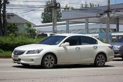 Private car Honda accord. CHIANG MAI, THAILAND - AUGUST 28  2017: Private car Honda accord. On road no.1001 8 km from Chiangmai Business Area Stock Photography