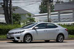 Private car, Toyota Corolla Altis. Eleventh generation Stock Photography