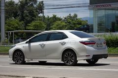 Private car, Toyota Corolla Altis. Eleventh generation Royalty Free Stock Photography