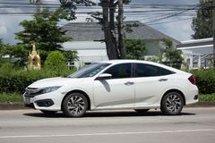 Private New Car Honda Civic  Tenth generation Royalty Free Stock Images