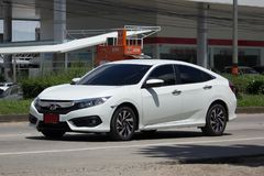 Private New Car Honda Civic  Tenth generation Stock Photography