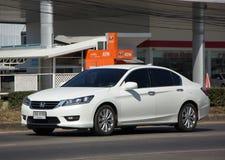 Private car Honda accord. CHIANG MAI, THAILAND -DECEMBER 24 2017: Private car Honda accord. On road no.1001 8 km from Chiangmai Business Area Stock Image