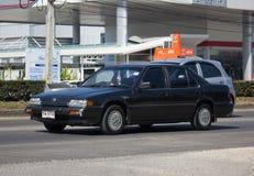 Private car Honda accord. CHIANG MAI, THAILAND -DECEMBER 22 2017: Private car Honda accord. On road no.1001 8 km from Chiangmai Business Area Stock Images