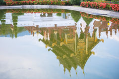 Chiang Mai,THAILAND-DECEMBER 28, 2016: royal park rajapruek Royalty Free Stock Photos