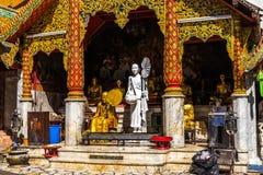 Chiang Mai, Thailand - December 3, 2016: Wat Doi Suthep Stock Afbeelding
