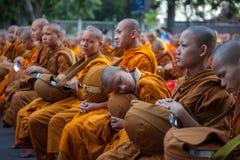 CHIANG MAI, THAILAND - 26. DEZEMBER 2015: Junger Mönch Lizenzfreies Stockbild