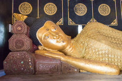 Chiang Mai, Thailand. - Feb 22 2015: Budda Statues at Wat Chang Stock Photography