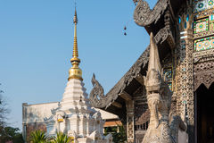 Chiang Mai, Thailand. - Feb 22 2015: Pagoda at Wat Chang Taem. a Royalty Free Stock Image
