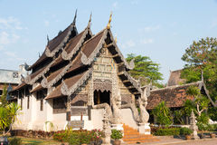Chiang Mai, Thailand. - Feb 22 2015: Wat Chang Taem. a famous Te Royalty Free Stock Images