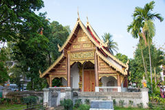 Chiang Mai, Thailand. - Feb 17 2015: Wat Chiang Man. a famous Te. Mple in Chiang Mai, Thailand Stock Images