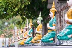 Chiang Mai, Thailand - 13. Februar 2015: Wat Chai Sri Phum ein berühmtes Lizenzfreies Stockfoto